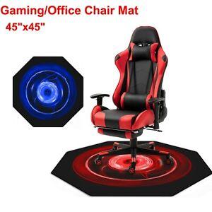 "Desk Office Gaming Chair Floor Mat Protector for Hard Wood Floor 45 x 45"" US"