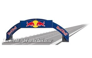 Carrera Red Bull Bridge for 124 / 132 slot car track 21125