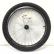"""20"""" Bicycle Front Black Alloy Wheel with 1.95"""" Tire Kids BMX Bike #k64"""