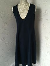 ASOS Navy Blue Long Maternity Dress Size 12