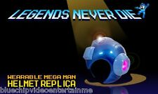 Mega Man Wearable Replica Helmet Official Collector's Edition   FREE SHIPPING