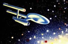 LOT 2: Vintage STAR TREK 35mm slide by MORRIS SCOTT DOLLENS.