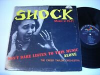 The Creed Taylor Orchestra Shock Music in Hi - Fi 1960 Mono LP
