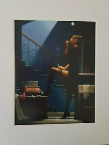 Jack Vettriano Dancer for Money Mounted Art Print Special Offer NEW