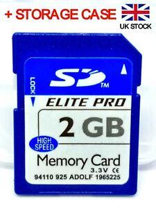 2GB SD card ELITE PRO class 10 memory for camera, tablet, 3d printer, satnav PDA