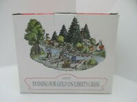 Liberty Falls AH179 Panning for Gold Christmas Village NEW FREE SHIP