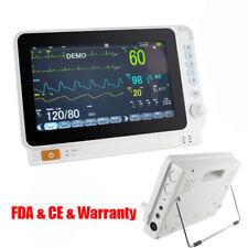 Portable Vital Signs Dental Patient Monitor Cardiac Multi Paras Alarm Battery
