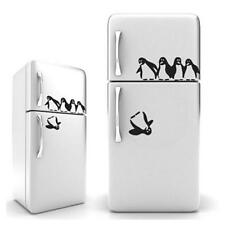 Home Decor Penguin Fun Kitchen Fridge Sticker Dining Decorative Wall Stickers W