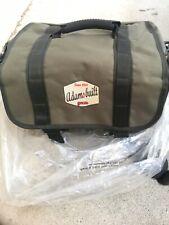 Adamsbuilt Mokelumne gear fishing hobby bag, olive green Nwt