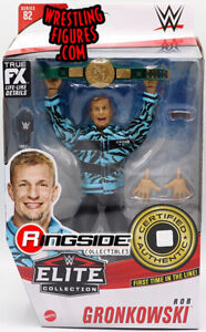 WWE ELITE ROB GRONKOWSKI WRESTLING FIGURE SERIES 82 GRONK MANIA 24/7 Belt