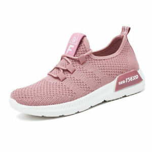 New Casual Shoes Lace-Up Running Shoes Lightweight Mesh Non-Slip Sneakers Women