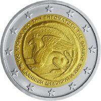 Rolle 25 * 2 Euro Griechenland 2020 100. Jahr Vereinigung Thrakien Griechenland