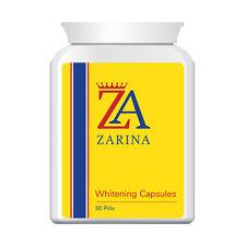 ZARINA WHITENING CAPSULES PROVEN WHITE LIGHT FAIR SKIN EXTREME RESULTS FAST!