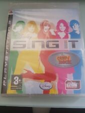 Disney Sing It CAMP ROCK Brand New Fully Factory Sealed for PS3 - Singstar Miley