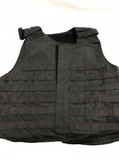Point Blank Tactical Vest Black MOLLE LE Police SWAT (No Armor Included) L