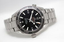 Men's Omega Seamaster Planet Ocean 42mm-ASSIALE AUTOMATICO Co Cronometro Orologio