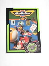 1993 TEAM BLOCKBUSTER VIDEO GAMING CARD PROMO #26 Micro Machines! TINY CARS RARE