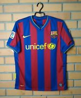 Barcelona Jersey 2009 2010 Home SMALL Shirt Soccer Nike Football