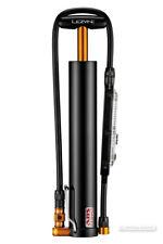 Lezyne MICRO FLOOR DRIVE XL w/DIGITAL GAUGE High Volume Bicycle Hand Pump BLACK