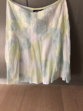 Brand New Miss Shop Pale Mint Green Pleated Skirt Size 8