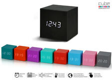 GINGKO GRAVITY CUBE Design Wecker NEU/OVP Alarm Uhr Würfel + Kalender Temperatur