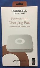 New Duracell Powermat Wireless Charging Pad - PMA-3 Technology - Gray / White