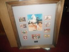 Limited Edtion Silver Screen Series Clayton Moore #30/100 The Lone Ranger Framed