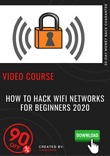 How to Hack WiFi Networks for Beginners 2020 video course training tutorial