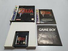 The Legend of Zelda LINK'S AWAKENING Dx Game Boy Color EUR COMPLETO Falta pila!