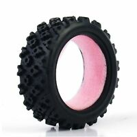 For RC 1/10 Rally RC Off Road Car  HSP HPI PP0487 4 X Soft Rubber Tires New