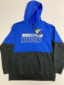 Nike On Field Apparel NCAA Kentucky Wildcats Football Hoodie Men's XL CQ5549-480
