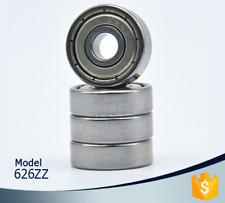5pcs 626 Zz Miniature Bearings Ball Mini Bearing 6 X 19 X 6mm