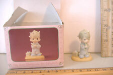 May Your Chritsmas Be Delightful~Enesco Precious Moments Miniature Xmas Figurine