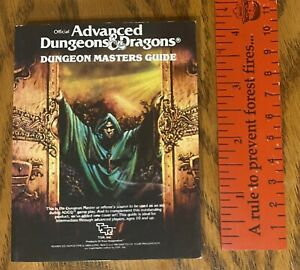RARE miniature version AD&D Dungeon Masters Guide Dungeons & Dragons