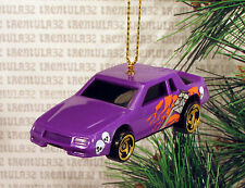 CHEVY STOCKER RACE CAR PURPLE BLACK RACING CHEVROLET CHRISTMAS ORNAMENT XMAS