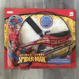 Brand New Sealed IMC Toys Marvel Spiderman Rescue Helicopter