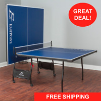 Ping Pong Table Tennis Folding Tournament Size Game Set Indoor Sport With Wheels