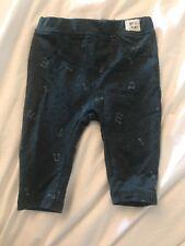 Zara Boys Girls Unisex Musical Notes Leggings 3-6 months