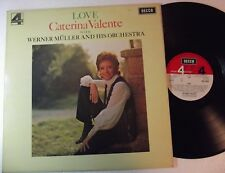"""LP-CATERINA VALENTE-""""LOVE""""With Werner Müller And His Orchestra-GERMANIA '72-MINT"""