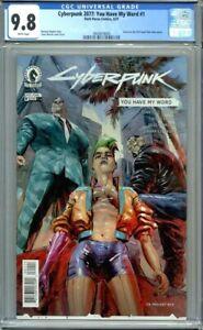 Cyberpunk 2077: You Have My Word #1  Dark Horse Comics  1st Print  CGC 9.8
