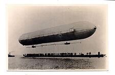 EXTREMELY RARE ANTIQUE GRAF ZEPPELIN FIRST START 2.7.1900 FLIGHT PHOTO