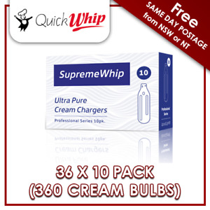 360 Cream Bulbs SupremeWhip Pro - 10 PACK X 36 8.2g N20