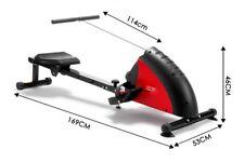 Genki 116899 Magnetic Rowing Machine with Flywheel