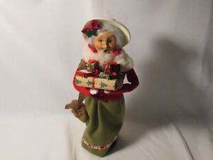 Byers Choice 1997 Talbots Exclusive Shopping Mrs. Claus