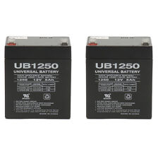 UPG 12V 5Ah Replacement Battery for MIPRO MA-708 Portable PA System - 2 Pack