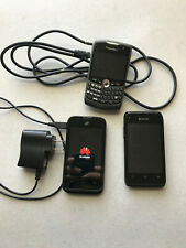 3 - used Mobile Cell Phones Blackberry Curve Huawei Kyocera