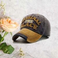 Vintige Distressed Mesh Trucker Baseball Cap Snapback Outdoor Sports Hat