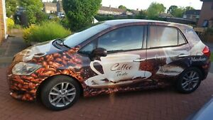Mobile cafe, coffee car,toyota Auris all equipment included  good working order