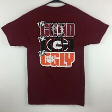 South Carolina Gamecocks T-Shirt The Good Bad Ugly Tee Color Garnet - New