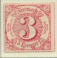 Thurn and Taxis Stamp Scott #61, Unused, No Gum